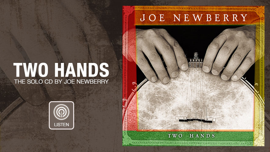 Two Hands-The Solo CD by Joe Newberry